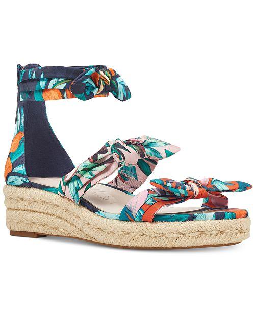 9956ce5f5a Nine West Allegro Wedge Sandals & Reviews - Sandals & Flip Flops ...