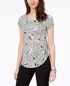 Printed T-Shirt, Created for Macy's