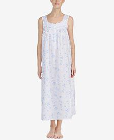 Eileen West Ballet Venise-Lace Woven Nightgown