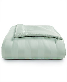 Charter Club Damask Twin Reversible Comforter, 100% Supima Cotton 550 Thread Count, Created for Macy's