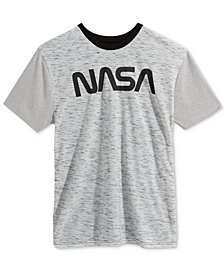 Bioworld Men's NASA Graphic T-Shirt