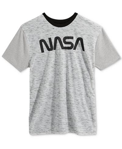 Bioworld Men's NASA Graphic T-Shirt