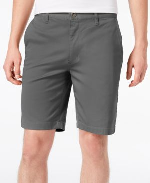 RVCA The Week-End Stretch Twill Chino Shorts in Smoke