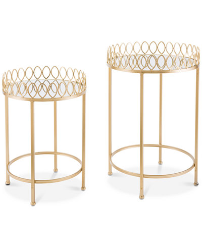 Venetia Tray Table (Set Of 2), Quick Ship