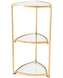 Yona Triangle End Table, Quick Ship