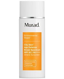Environmental Shield City Skin Age Defense Broad Spectrum SPF 50 | PA++++, 1.7-oz.