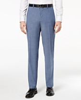 59d42db050fa25 Alfani RED Men's Slim-Fit Performance Stretch Light Blue Suit Pants,  Created for Macy's