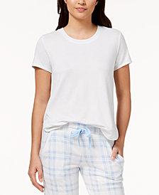 Ande Whisperluxe Ribbed-Hem Pajama Top