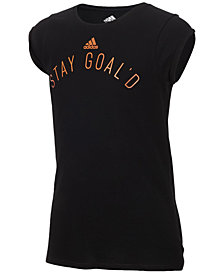 adidas Graphic-Print T-Shirt, Big Girls