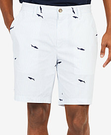 "Nautica Men's Shark Printed 8.5"" Shorts"