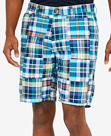 "Nautica Men's Fashion Madras Plaid 8.5"" Shorts"