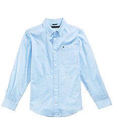 Tommy Hilfiger Printed Shirt, Little Boys