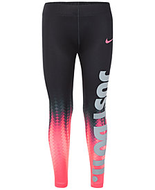 Nike Dri-FIT Pixel Graphic-Print Leggings, Little Girls
