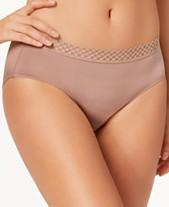 6467a63bd8 b.tempt d Tied in Dots Lace-Waist Bikini 978238