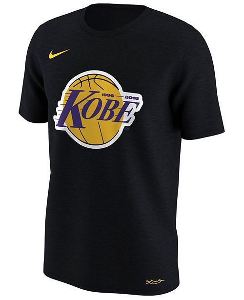 0dcc8e7726e4 Nike Men s Los Angeles Lakers Kobe Lakers Logo T-Shirt   Reviews ...
