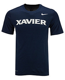 Nike Men's Xavier Musketeers Dri-Fit Legend Wordmark T-Shirt