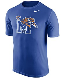 Nike Men's Memphis Tigers Dri-Fit Legend 2.0 Logo T-Shirt
