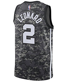 adidas Men's Kawhi Leonard San Antonio Spurs City Swingman Jersey