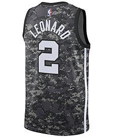 adidas Men's Kawhi Leonard San Antonio Spurs City Swingman Jersey