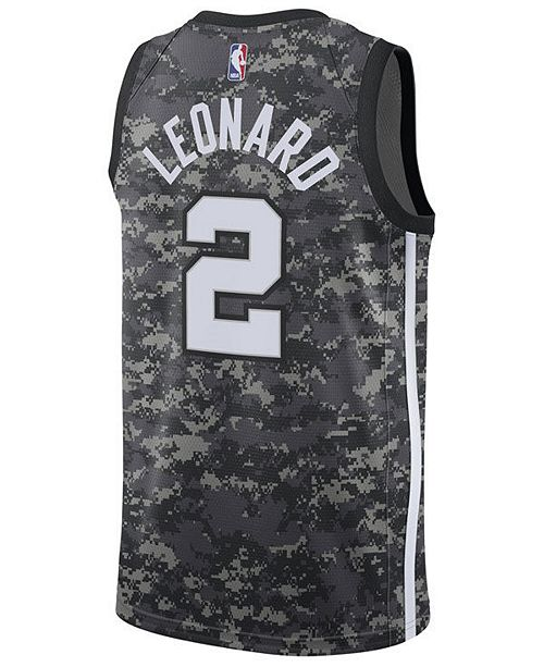 ... Nike Men s Kawhi Leonard San Antonio Spurs City Swingman Jersey ... 4ec568446