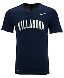 Nike Men's Villanova Wildcats Dri-Fit Legend Wordmark T-Shirt