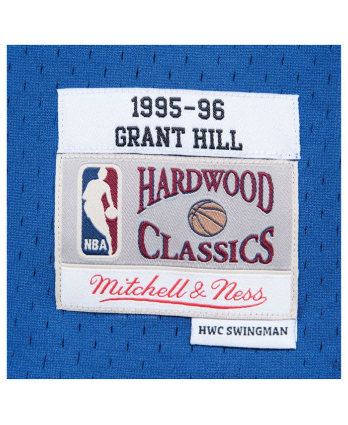 Mitchell & Ness Men's Grant Hill Detroit Pistons Hardwood Classic Swingman Jersey & Reviews - Sports Fan Shop By Lids - Men - Macy's