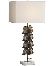 Ginkgo Metallic Table Lamp