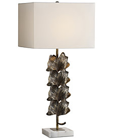 Uttermost Ginkgo Metallic Table Lamp