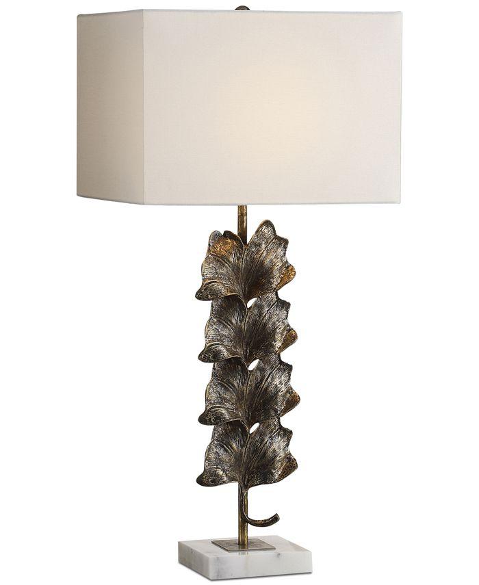 Uttermost - Ginkgo Metallic Table Lamp
