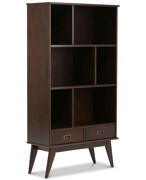 Simpli Home Ednie Wide Bookcase