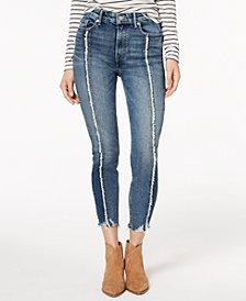 Lucky Brand Bridgette Frayed Skinny Jeans