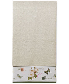 Creative Bath Botanical Diary Cotton Border-Print Bath Towel