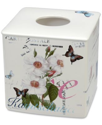 Botanical Diary Boutique Tissue Holder