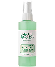 Mario Badescu Facial Spray With Aloe, Cucumber & Green Tea, 4-oz.