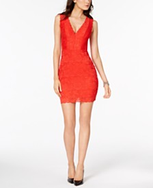 GUESS Katrina Lace Illusion Dress