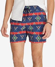 "Polo Ralph Lauren Men's 5-3/4"" Print Swim Trunks"