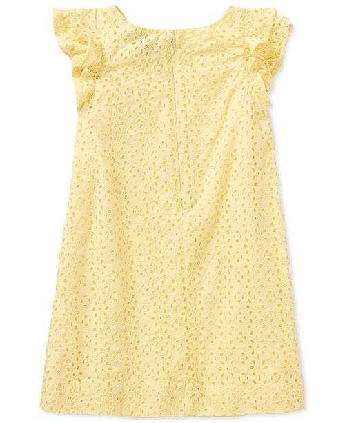 5b6efafbe Polo Ralph Lauren Ralph Lauren Eyelet Cotton Dress, Toddler Girls ...