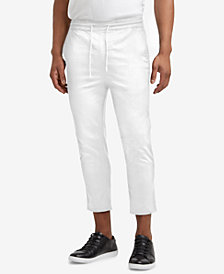 Kenneth Cole.Cropped Stretch Drawstring Pants