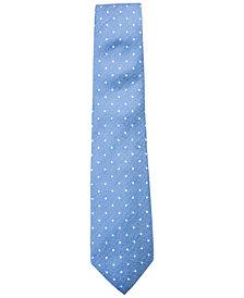 Tasso Elba Men's Dot Silk Tie, Created for Macy's