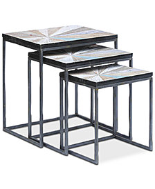 Cedar Point Nesting Table (Set Of 3), Quick Ship
