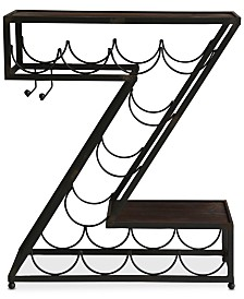 Z Wine Rack, Quick Ship