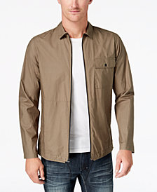Kenneth Cole.Full-Zip Shirt Jacket