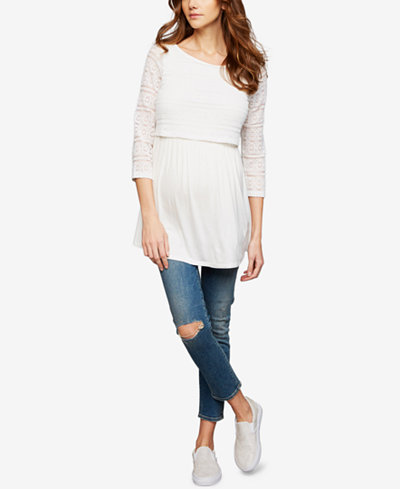 Citizens of Humanity Maternity Cropped Skinny Jeans