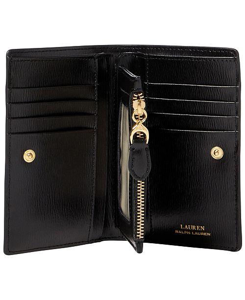 Lauren Ralph Lauren Bennington New Compact Leather Wallet - Handbags ... eeafd4a2490a