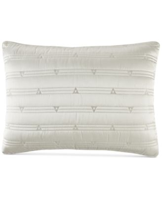 Gilded Geo Quilted Standard Sham, Created for Macy's