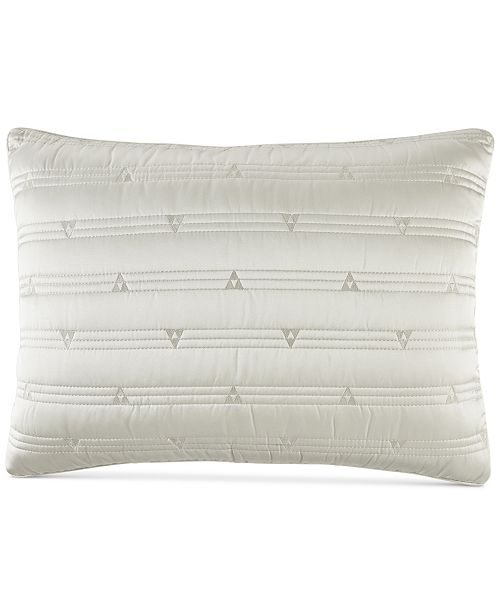 Hotel Collection Gilded Geo Quilted Standard Sham, Created for Macy's