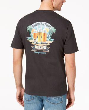 Tommy Bahama Men's Summertime Brews Graphic-Print T-Shirt 5797558