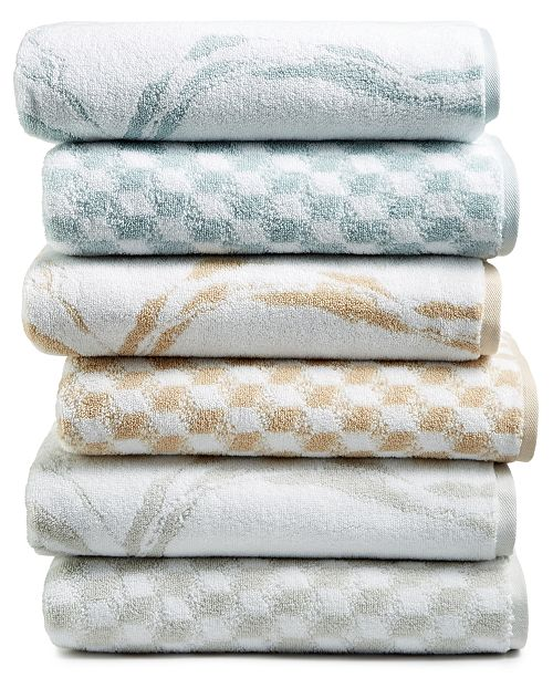 Hotel Collection Turkish Cotton Fashion Bath Towel Collection, Created for Macy's