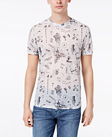 Guess Men's Wynn Graffiti-Print T-Shirt