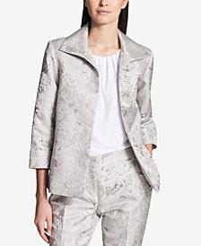 Calvin Klein Metallic Jacquard Blazer